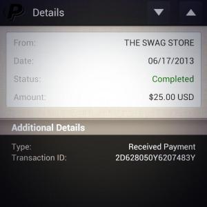 $25 Swag Bucks